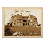 La mansión de los trituradores en Newport, Rhode I Postal