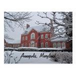 La mansión del gobernador de Maryland Postales