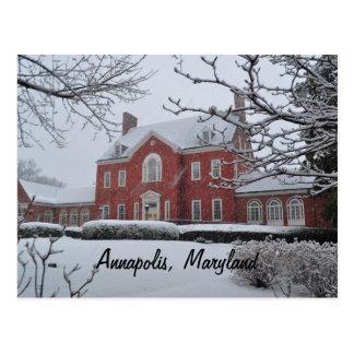 La mansión del gobernador de Maryland Tarjeta Postal