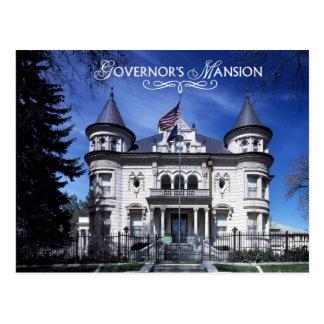 La mansión del gobernador, Salt Lake City, Utah Tarjetas Postales