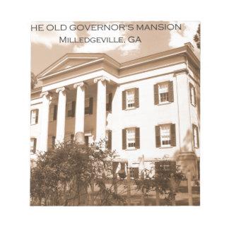 La mansión del gobernador viejo, Milledgeville, Ge Libretas Para Notas