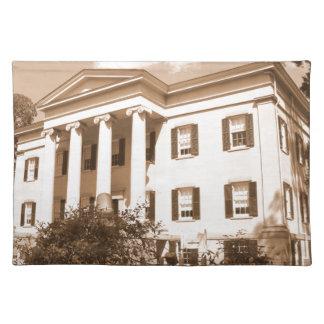 La mansión del gobernador viejo, Milledgeville, Ge Mantel Individual