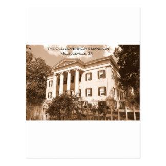 La mansión del gobernador viejo, Milledgeville, Postal