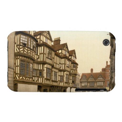 La mansión Shrewsbury, Shropshire, Inglaterra de I iPhone 3 Protectores