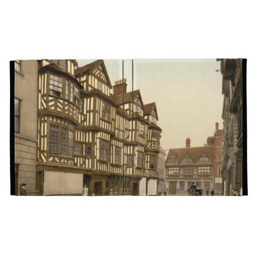 La mansión Shrewsbury, Shropshire, Inglaterra de I