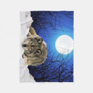 La manta del paño grueso y suave del vigilante manta de forro polar