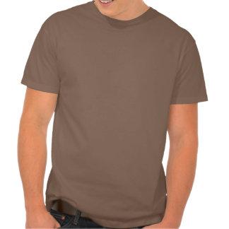 La mantequilla de cacahuete junta la camisa