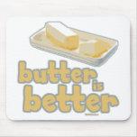 La mantequilla es mejor alfombrilla de raton