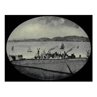La manufactura de Herculano, Liverpool, 1810 Tarjeta Postal