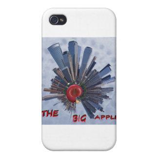 la manzana grande iPhone 4/4S funda
