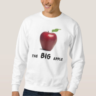 La manzana grande sudaderas encapuchadas