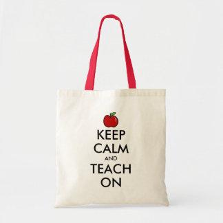 La manzana roja de la bolsa de asas el | del profe