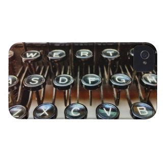La máquina de escribir del vintage cierra el caso Case-Mate iPhone 4 protector