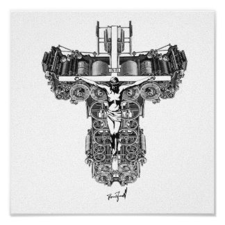La máquina de Jesús Poster