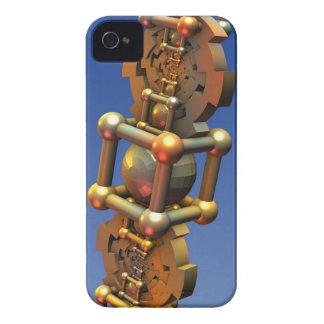 La máquina de tiempo, extracto tridimensional fres Case-Mate iPhone 4 coberturas