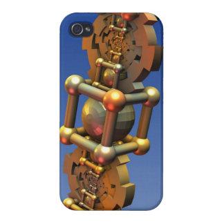 La máquina de tiempo, extracto tridimensional fres iPhone 4/4S carcasa