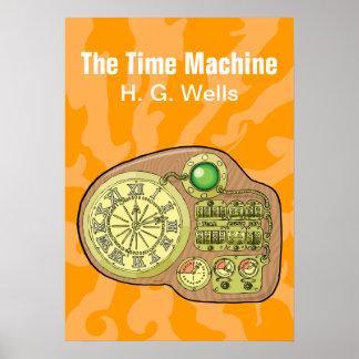 La máquina de tiempo - H.G. Wells Póster