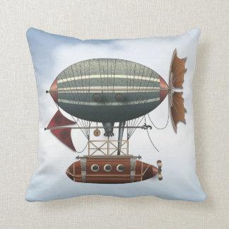 La máquina de vuelo de Steampunk del Aleutian del  Cojin