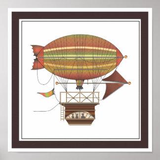 La máquina de vuelo del dirigible de Locke Caballo Impresiones