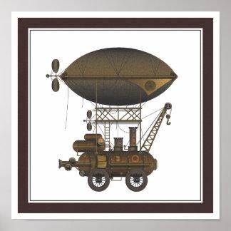La máquina de vuelo industrial de Douglas del diri Impresiones