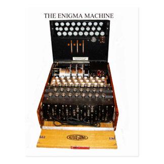 La máquina del enigma, mensajería de los militares tarjeta postal