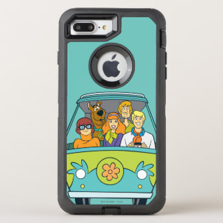 La máquina del misterio funda OtterBox defender para iPhone 7 plus