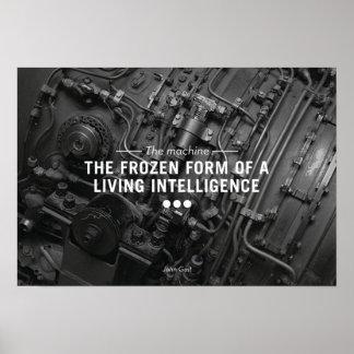 La máquina póster