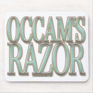 La maquinilla de afeitar de Occam Tapete De Ratones