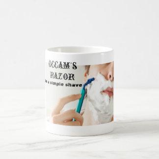 La maquinilla de afeitar de Occam Tazas