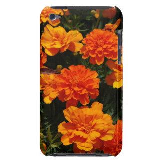La maravilla anaranjada florece la caja de iTouch iPod Case-Mate Protectores