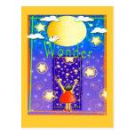 La maravilla del niño tarjeta postal