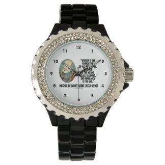La maravilla es la fundación de la filosofía relojes de mano