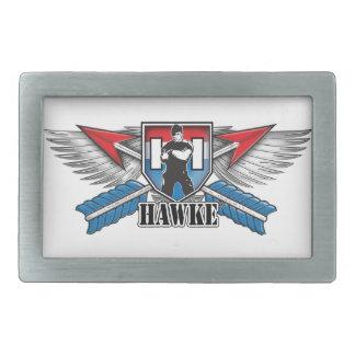La marca de Hawke Hebillas De Cinturon Rectangulares
