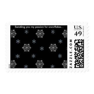 La marca de los copos de nieve… franqueo