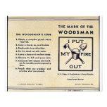 La marca del Woodsman Invitacion Personalizada