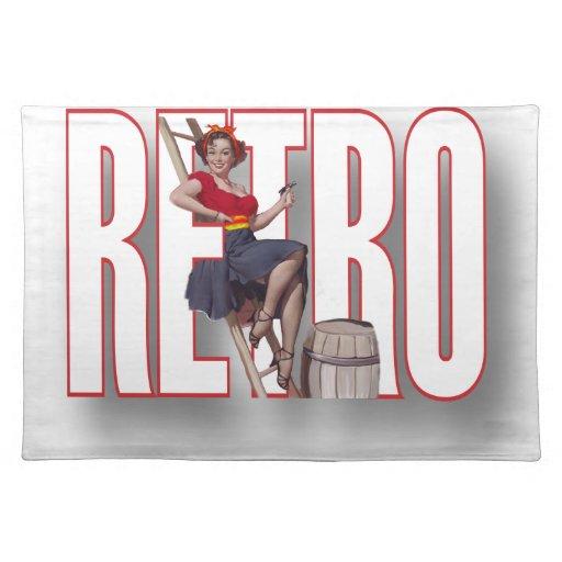 La marca RETRA Mantel