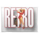 La marca RETRA Mantel Individual