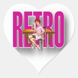 La marca RETRA Pegatina Corazón
