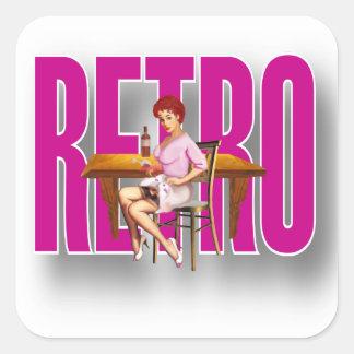 La marca RETRA Calcomanías Cuadradases