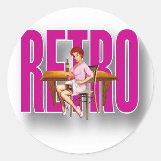 La marca RETRA Etiqueta Redonda