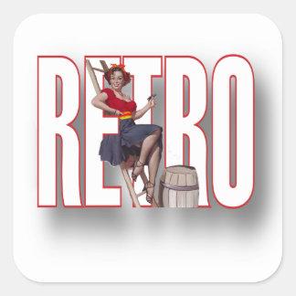 La marca RETRA Calcomanias Cuadradas