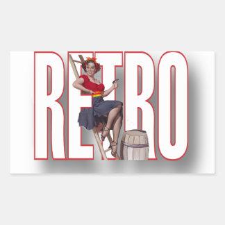 La marca RETRA Rectangular Altavoces