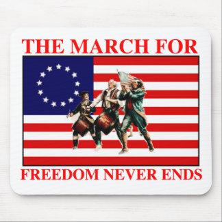 la marcha para la libertad nunca termina alfombrillas de raton