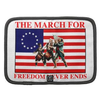 la marcha para la libertad nunca termina organizador