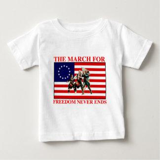 la marcha para la libertad nunca termina playeras
