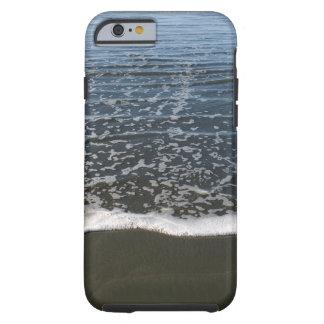 La marea del océano que se lava en tierra funda resistente iPhone 6