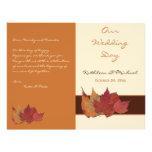 La marfil anaranjada de Brown secada sale de progr Flyer A Todo Color
