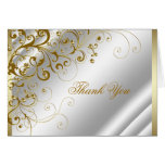 La marfil y el oro elegantes le agradecen