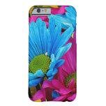 La margarita colorida de Gerber florece la caja Funda De iPhone 6 Barely There