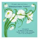 La margarita de Gerber florece la fiesta de gradua Anuncios Personalizados